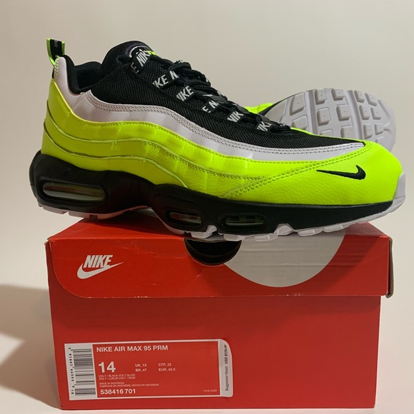 100% Authentic Nike Air Max 95 PRM Size 14